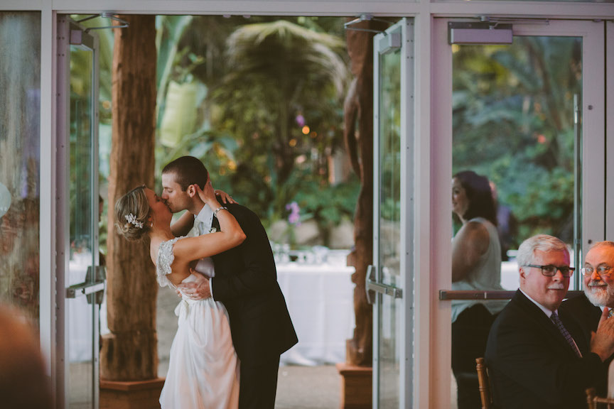 Missy And Alex Phipps Walled Garden Wedding 187 Hot Metal
